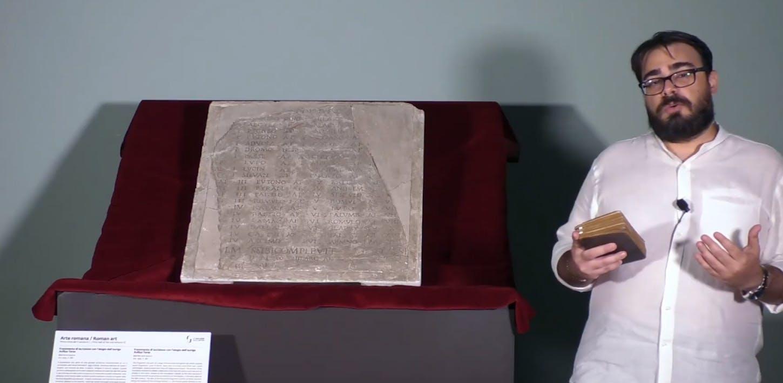 L'iscrizione con il palmares di Avilius Teres