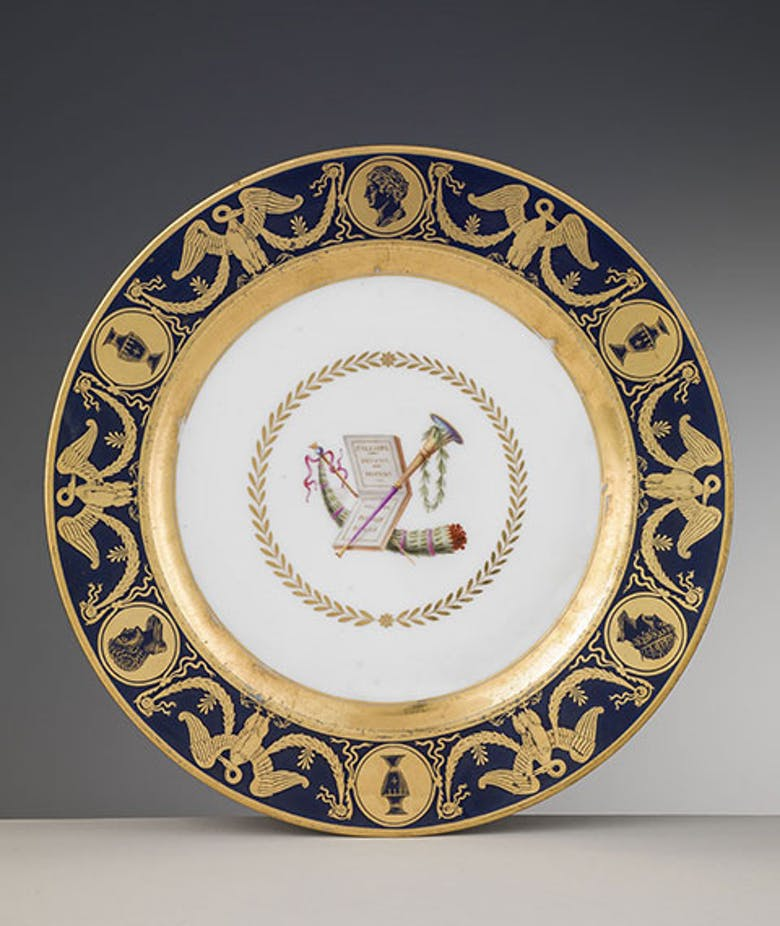 Entrée and dessert service of the Grand Duchess Elisa Baciocchi