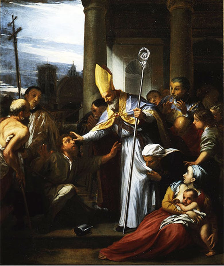 San Zanobi ridona la vista a un cieco