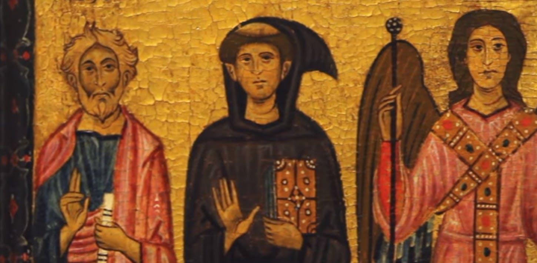 Due tavole dedicate a San Francesco, dipinte da Bonaventura Berlinghieri