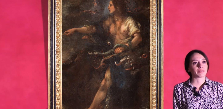 L'Armida di Tasso in un dipinto di Cecco Bravo