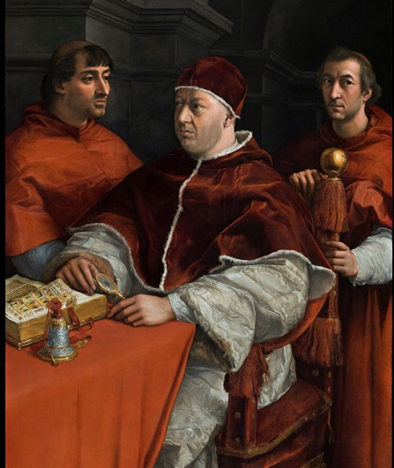 The Medici Pope returns to Florence