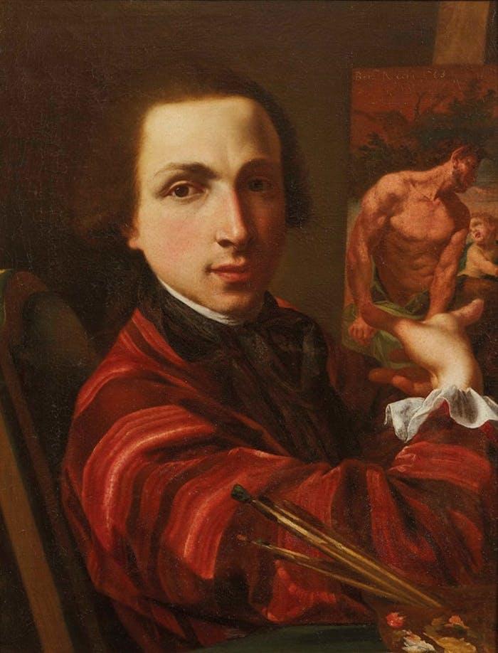 L'autoritratto di Bernardino Nocchi acquistato dagli Uffizi