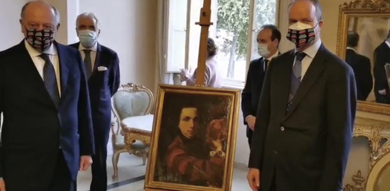 L'Autoritratto giovanile del pittore lucchese Bernardino Nocchi. Un nuovo acquisto delle Gallerie