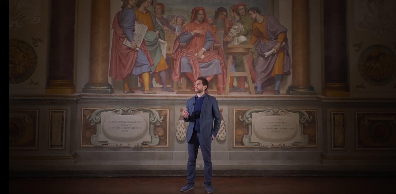 La Sala di Giovanni da San Giovanni a Palazzo Pitti