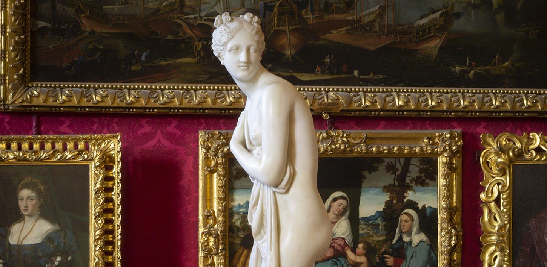La Venere Italica di Canova in diretta da Palazzo Pitti