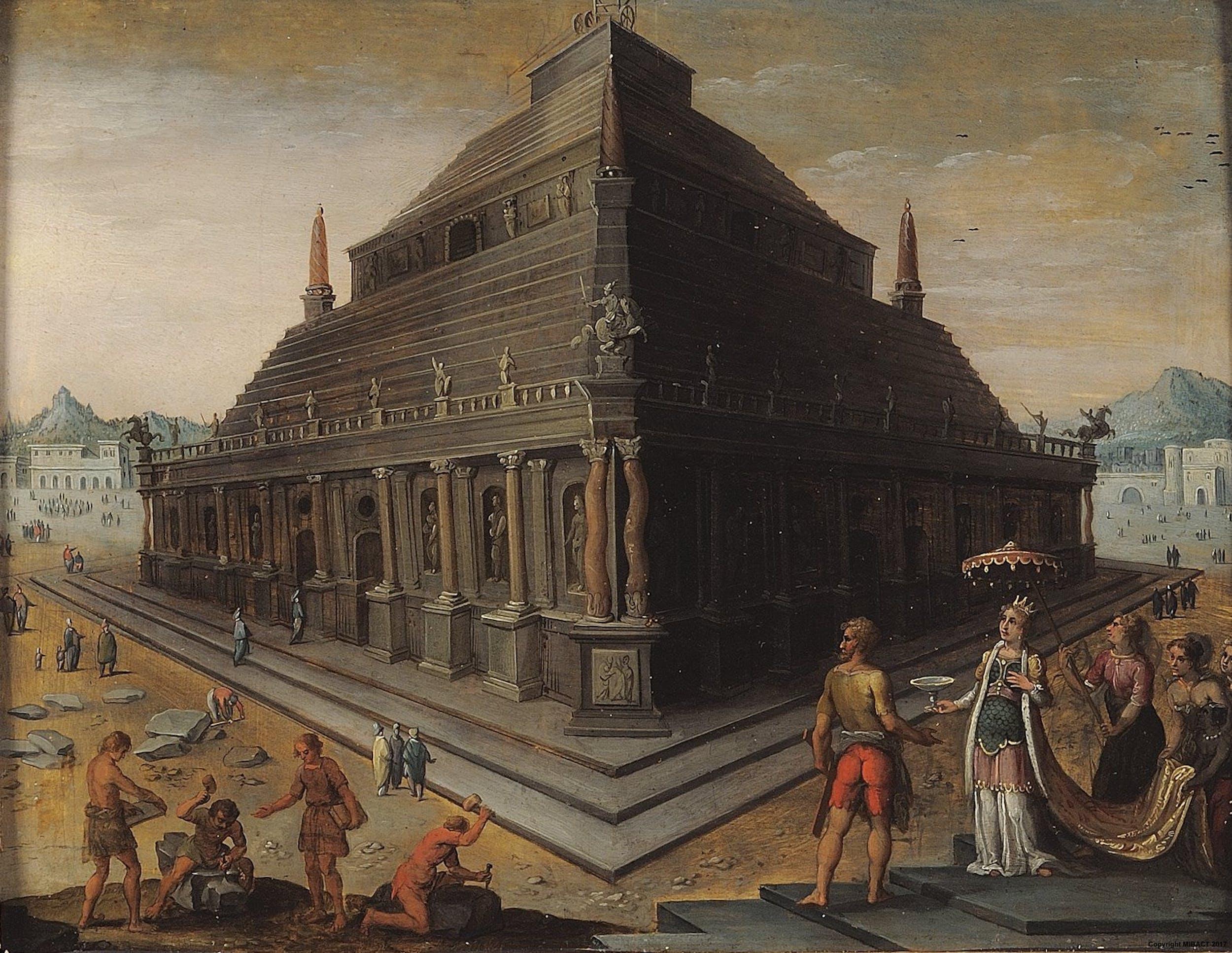 Il Mausoleo di Alicarnasso Inv. 1890 n.5974