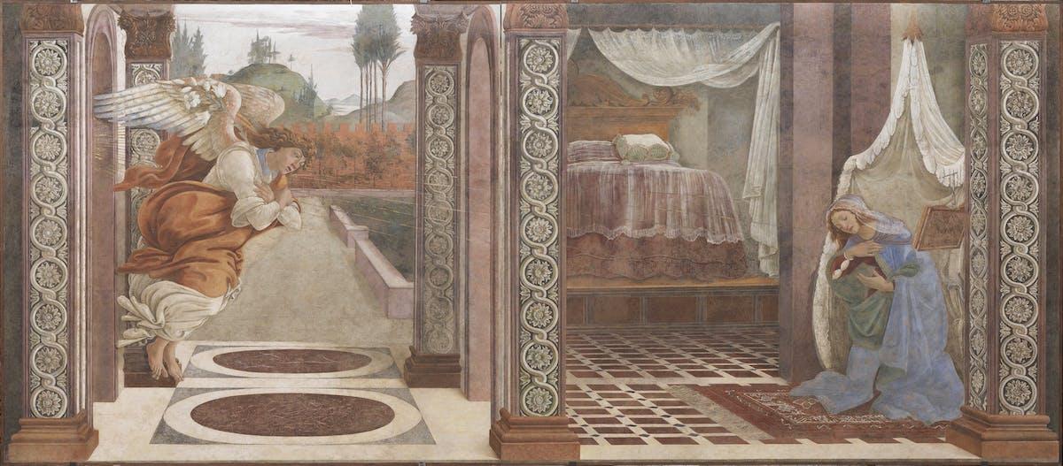Sandro Botticelli, Annunciazione