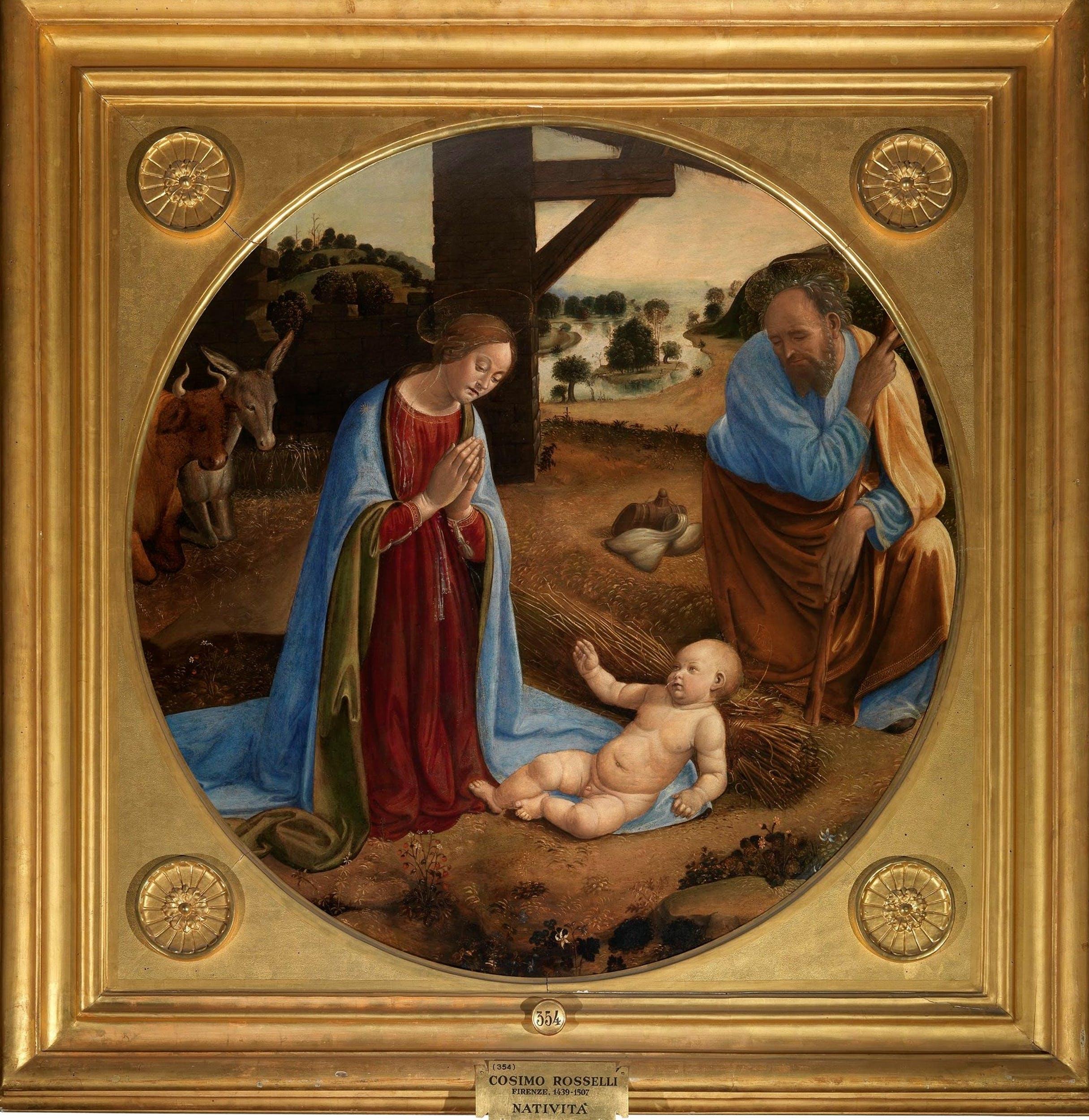 Cosimo Rosselli, Adorazione del Bambino