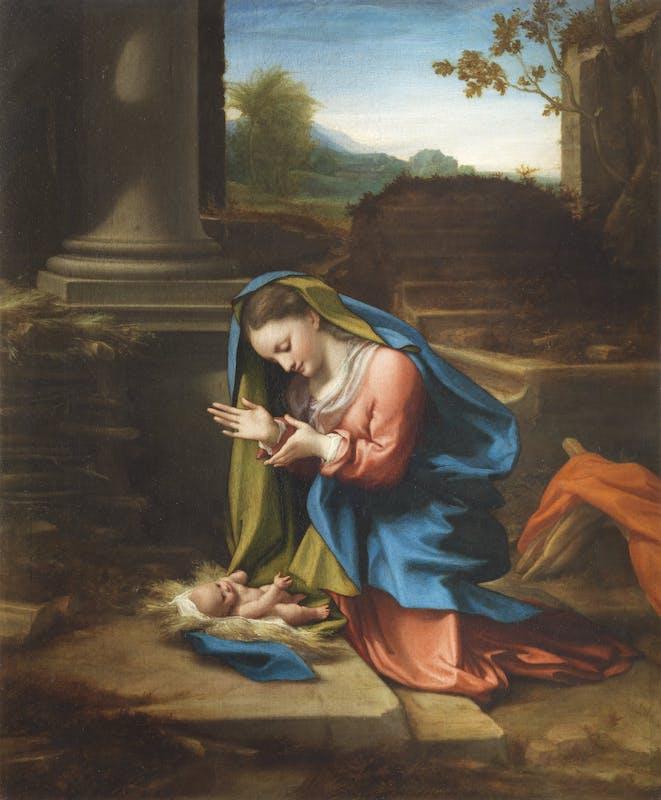 Correggio, Adorazione del Bambino