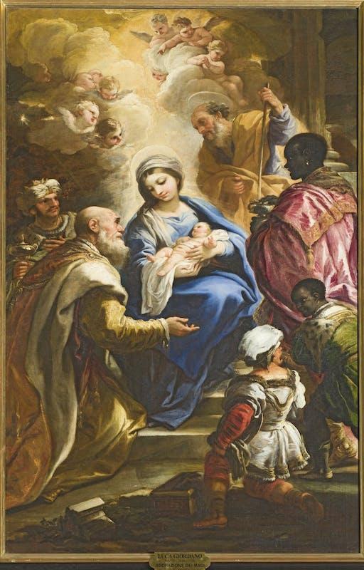 Luca Giordano, Adorazione dei Magi