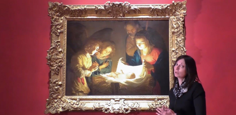 L'Adorazione del Bambino di Gherardo delle Notti