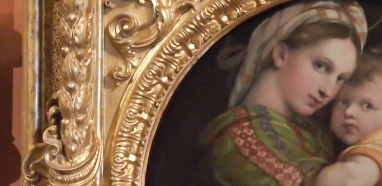 #goldenmonday II - Perché un quadro rotondo ha un cornice quadrata?