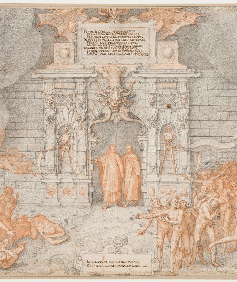 Gli Uffizi dedicano un'Ipervisione a Dante: 88 tavole di Federico Zuccari illustrano la Divina Commedia