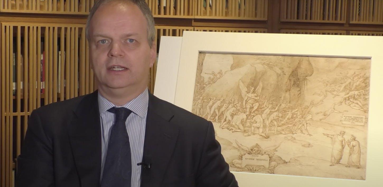 Uffizi puts seldom-seen Divine Comedy sketches by Federico Zuccari on display online to celebrate Dante Alighieri