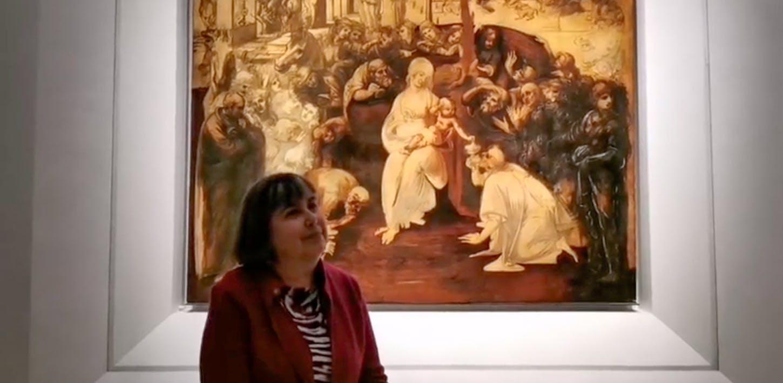 In diretta con l'Adorazione dei Magi di Leonardo