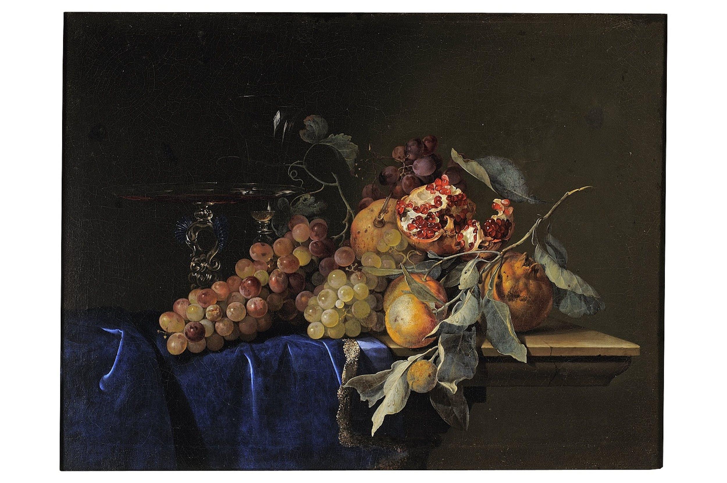 Willelm Van Aelst, Natura morta con frutta