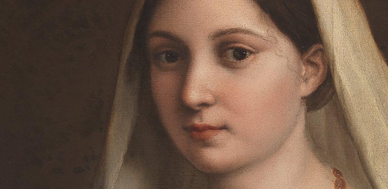 La Velata di Raffaello e le parole che il pittore dedica all'amata