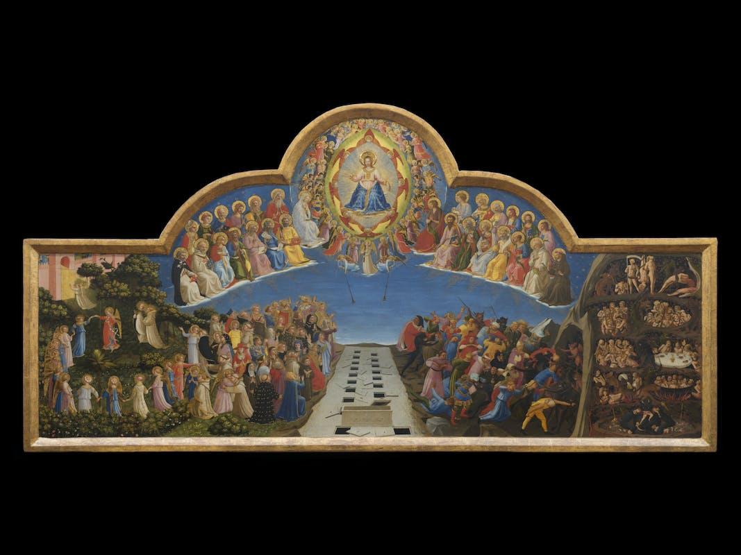 Beato Angelico (Vicchio, 1395 circa – Roma, 1455) Giudizio Finale 1425-1430 tempera su tavola, 105 x 210 cm Firenze, Museo di San Marco