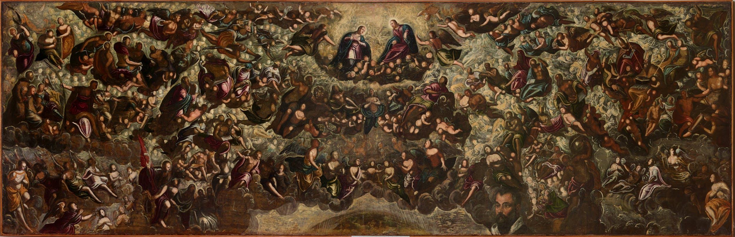 Tintoretto (Venezia, 1518 – 1594) Paradiso (bozzetto) 1588-1592 olio su tela, 150 x 450 cm Collezione Intesa Sanpaolo Venezia – Fondazione Querini Stampalia in comodato