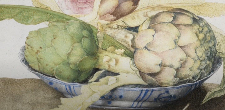 I carciofi empolesi e una natura morta di Giovanna Garzoni