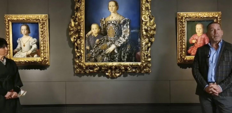 Il Ritratto Eleonora di Toledo di Bronzino