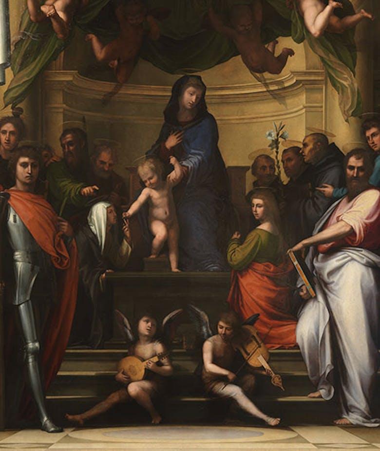 Sacra Conversazione (detta anche Sposalizio di santa Caterina, o Pala Pitti)