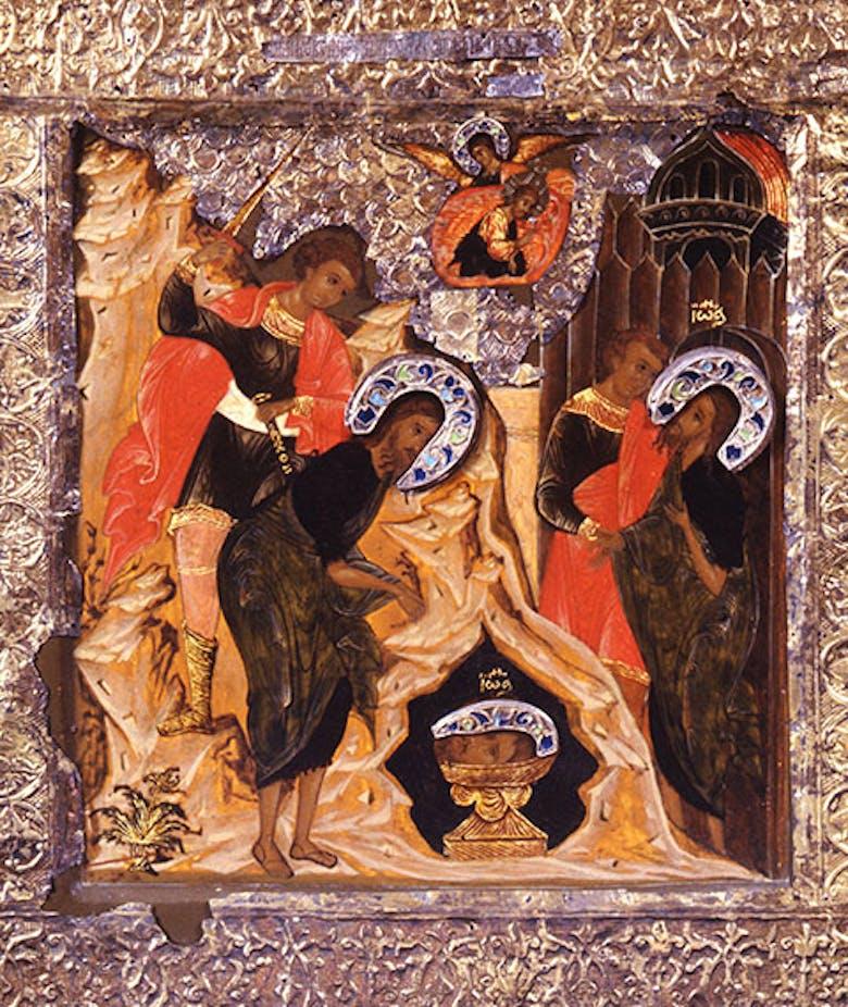 Icona Decollazione di san Giovanni Battista