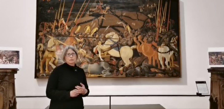 La Battaglia di San Romano di Paolo Uccello