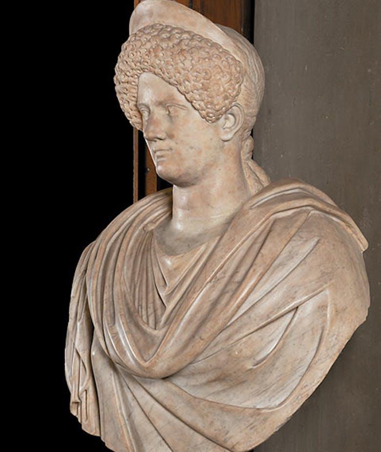 Portrait of Domitia Longina