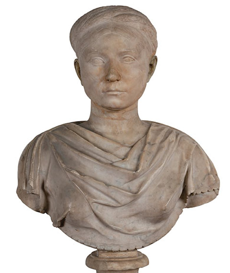 Portrait of an anonymous woman from the age of Hadrian
