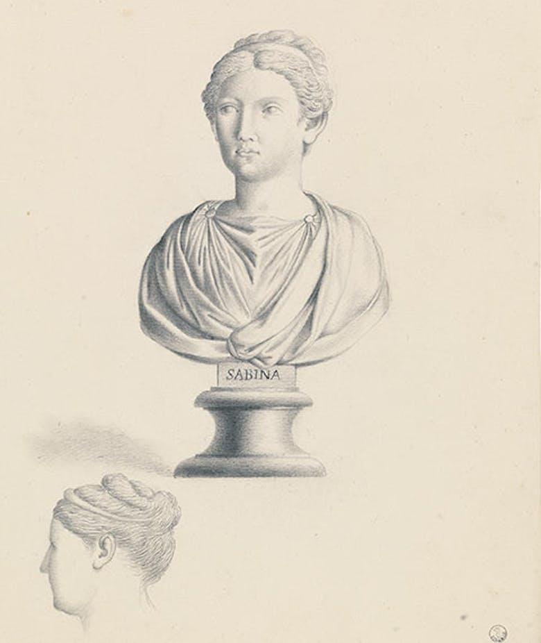 Busto di Vibia Sabina