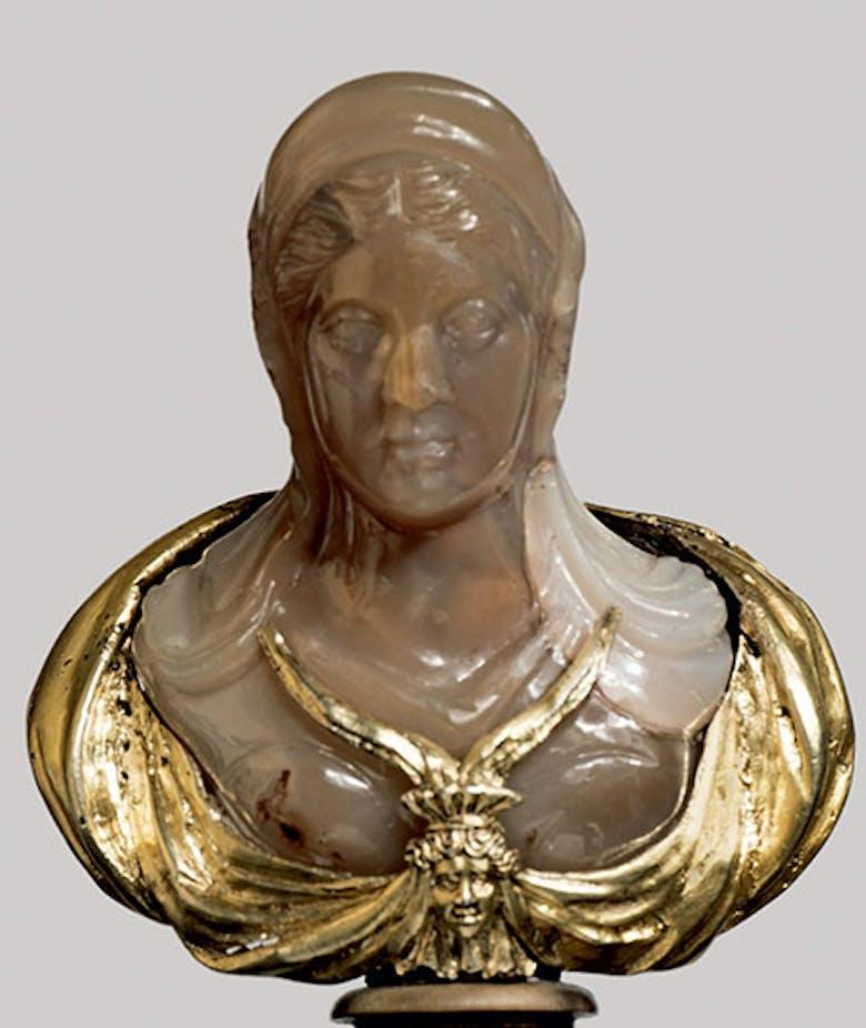 Piccolo busto di Antonia minore