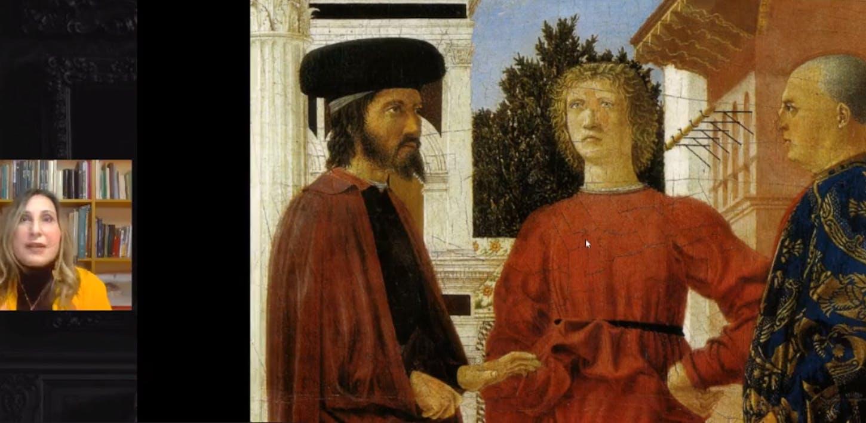 Claudio Strinati e Sandra Marraghini - La flagellazione e il Sogno di Costantino di Piero della Francesca tra prospettiva e cosmografia