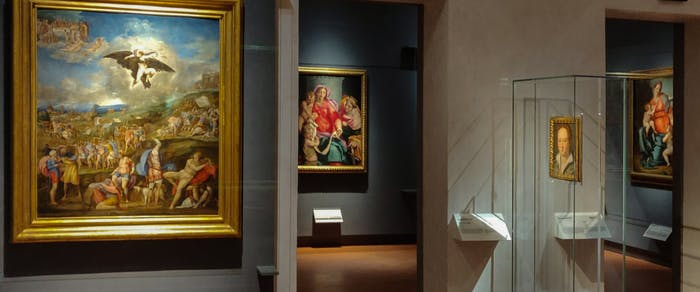The Uffizi reopens with 16th-century masterpieces on display for the first time