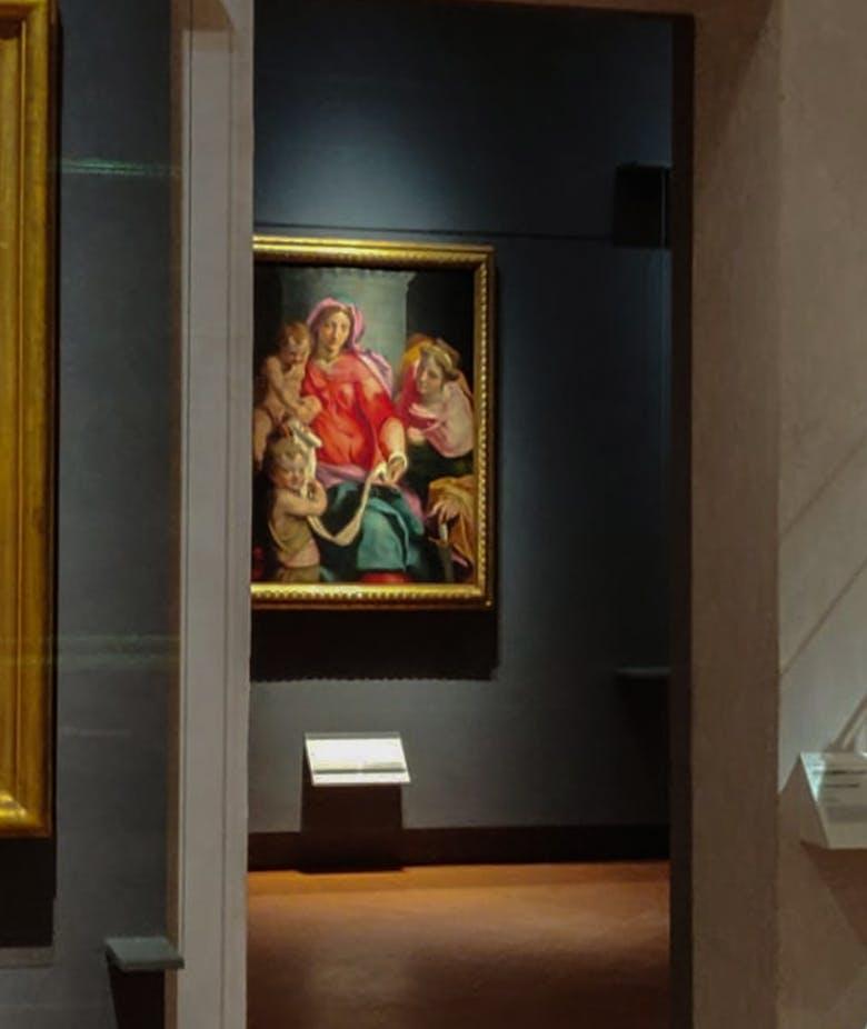 Le nuove sale del Cinquecento fiorentino, emiliano, romano e la prima raccolta di Autoritratti degli Artisti