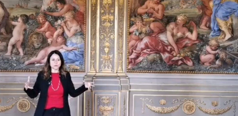La Sala della Stufa di Palazzo Pitti
