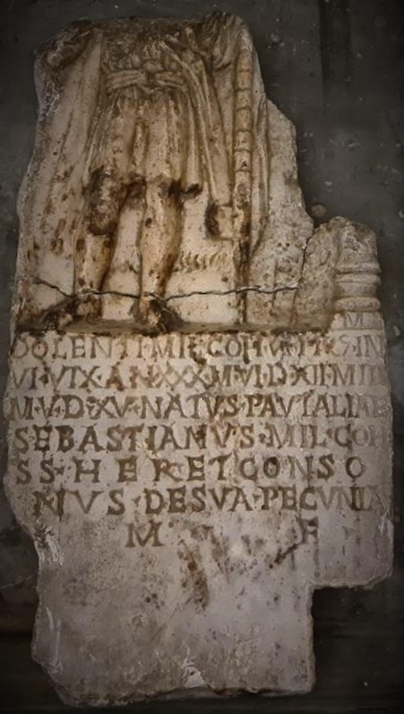 Stele del pretoriano Dolens