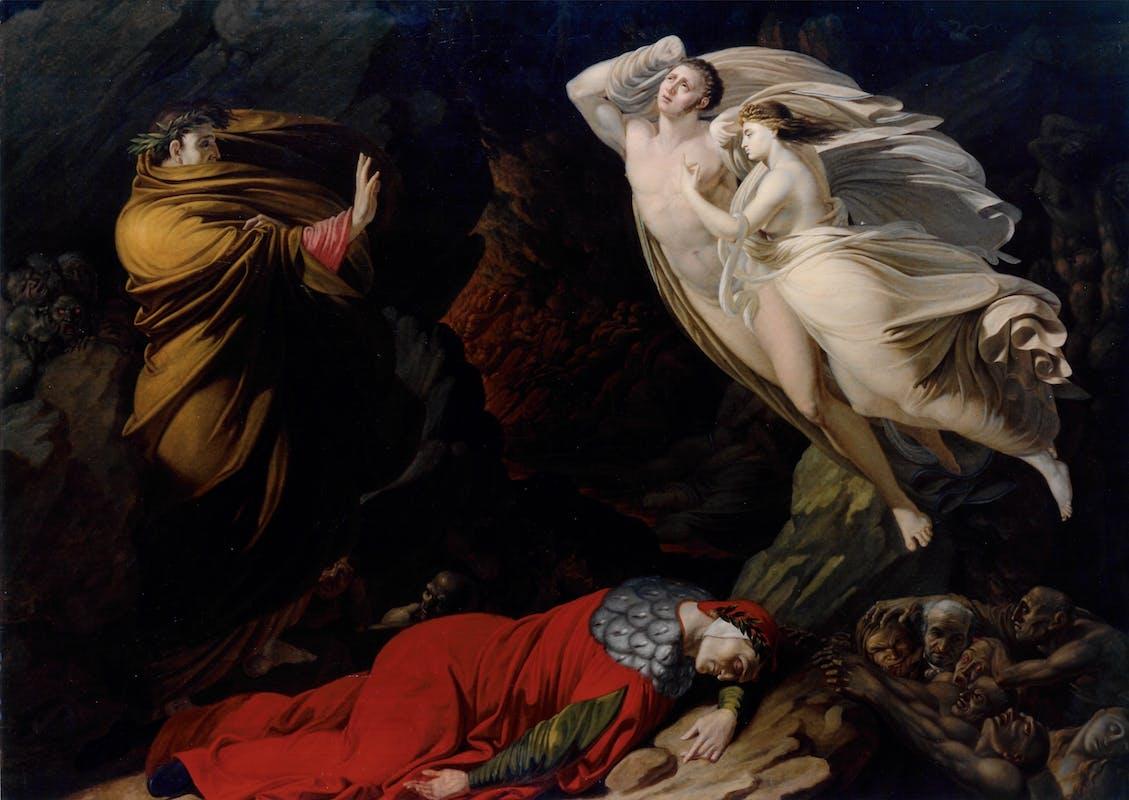 Nicola Monti, Paolo e Francesca all'Inferno 1810