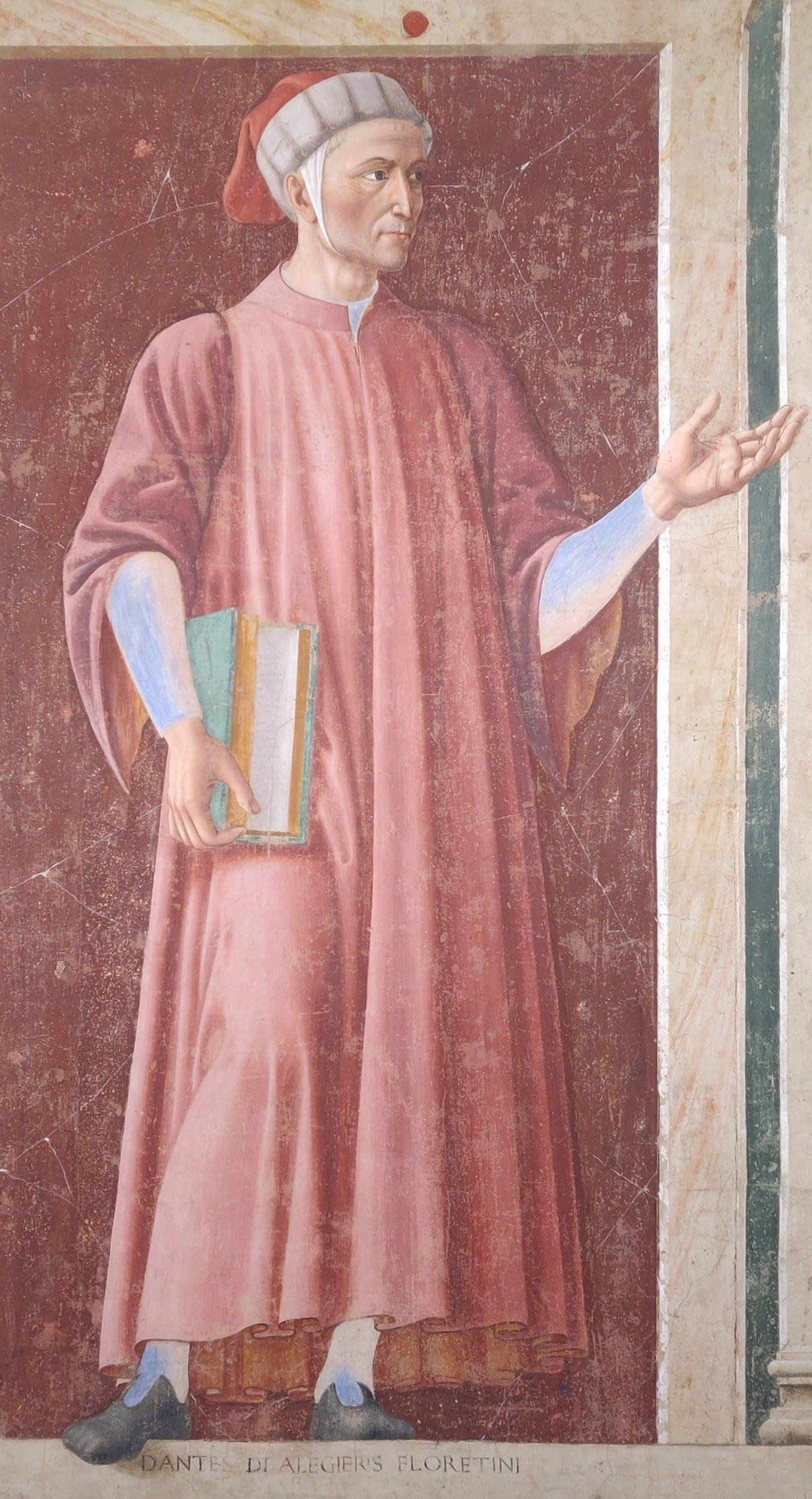 Andrea del Castagno, Ritratto di Dante Alighieri 1450