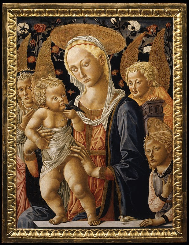Pseudo Pier Francesco Fiorentino, Madonna col Bambino, Seconda metà del XV secolo