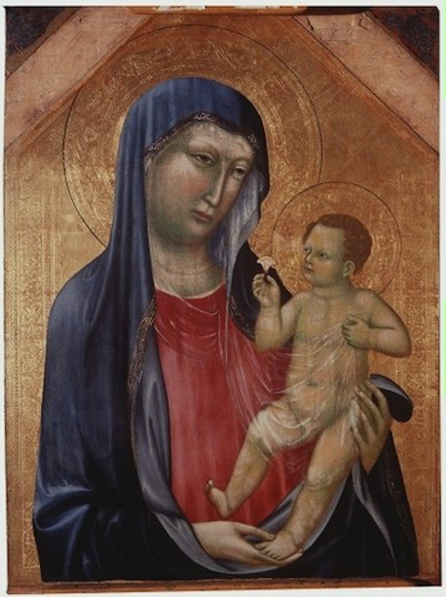 Lippo di Benivieni, Madonna con Bambino, inizi Sec. XIV
