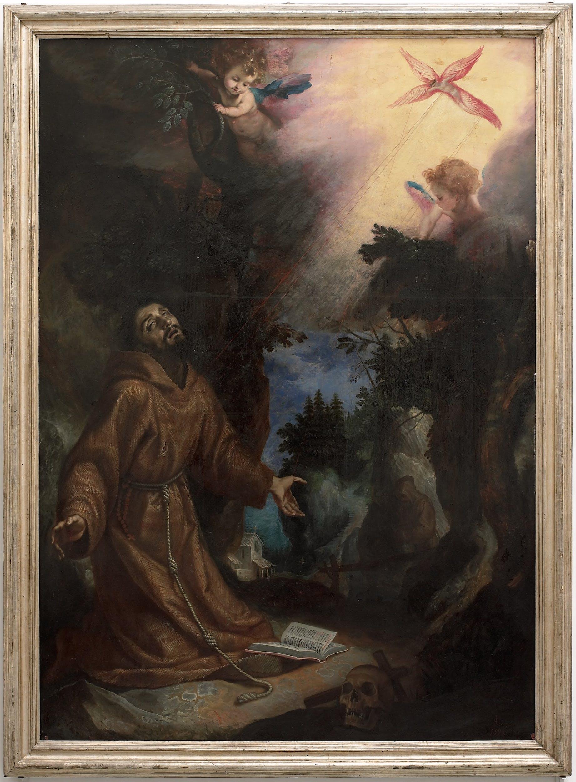 L. Cigoli San Francesco riceve le stimmate (1596)