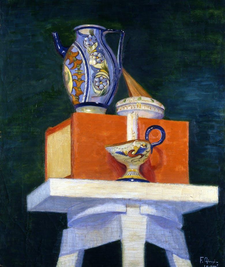 Still life of a stool