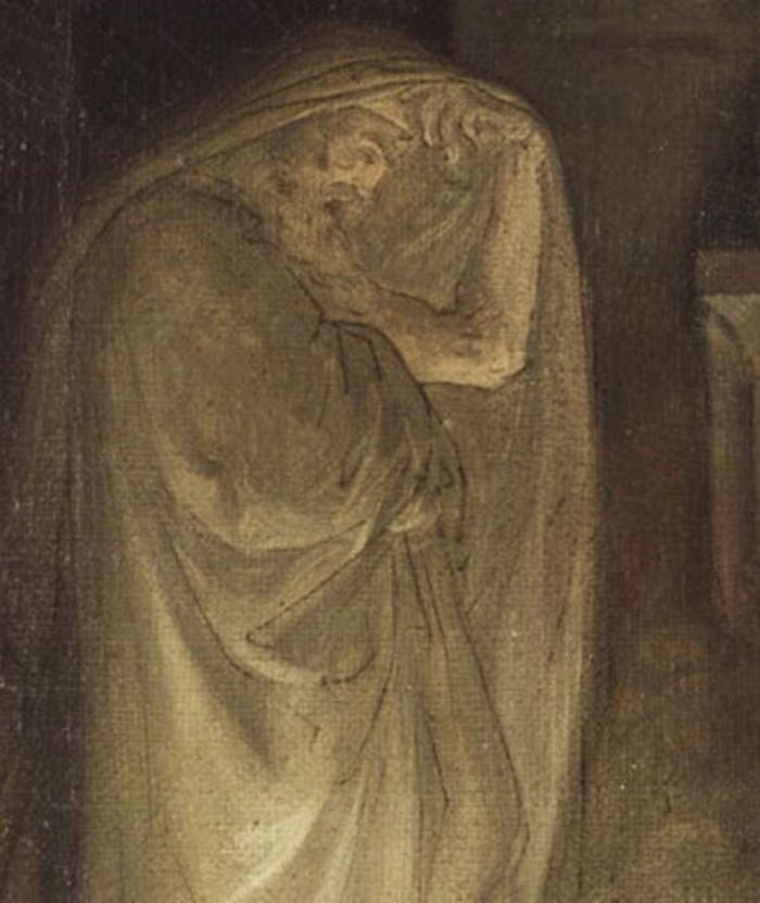 Gli Uffizi acquistano il bozzetto della 'Maga di Endor' del pittore romantico Giuseppe Sabatelli