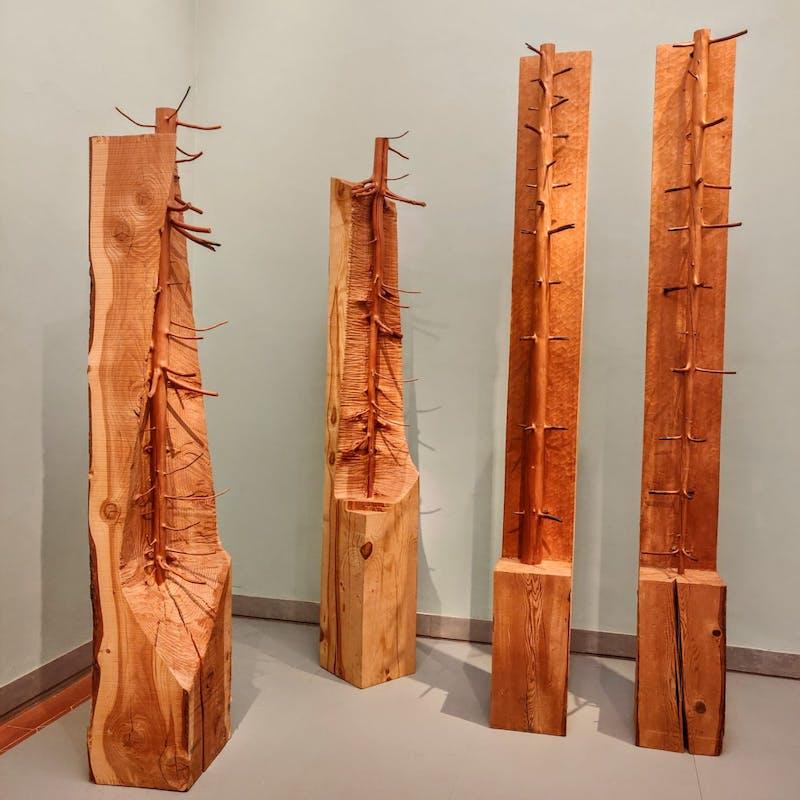 Nel legno