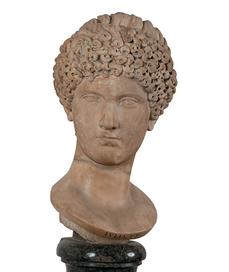 Portrait of an unknown woman (said to be Julia, daughter of Titus)
