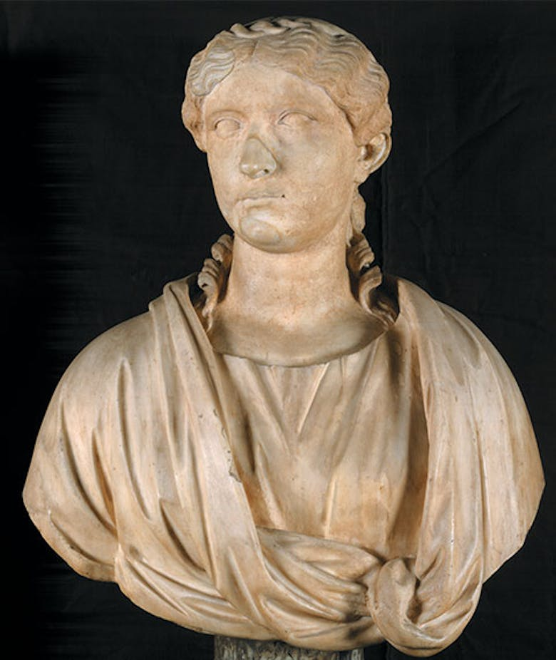 Portrait of unidentified woman (identified as Agrippina the Elder)