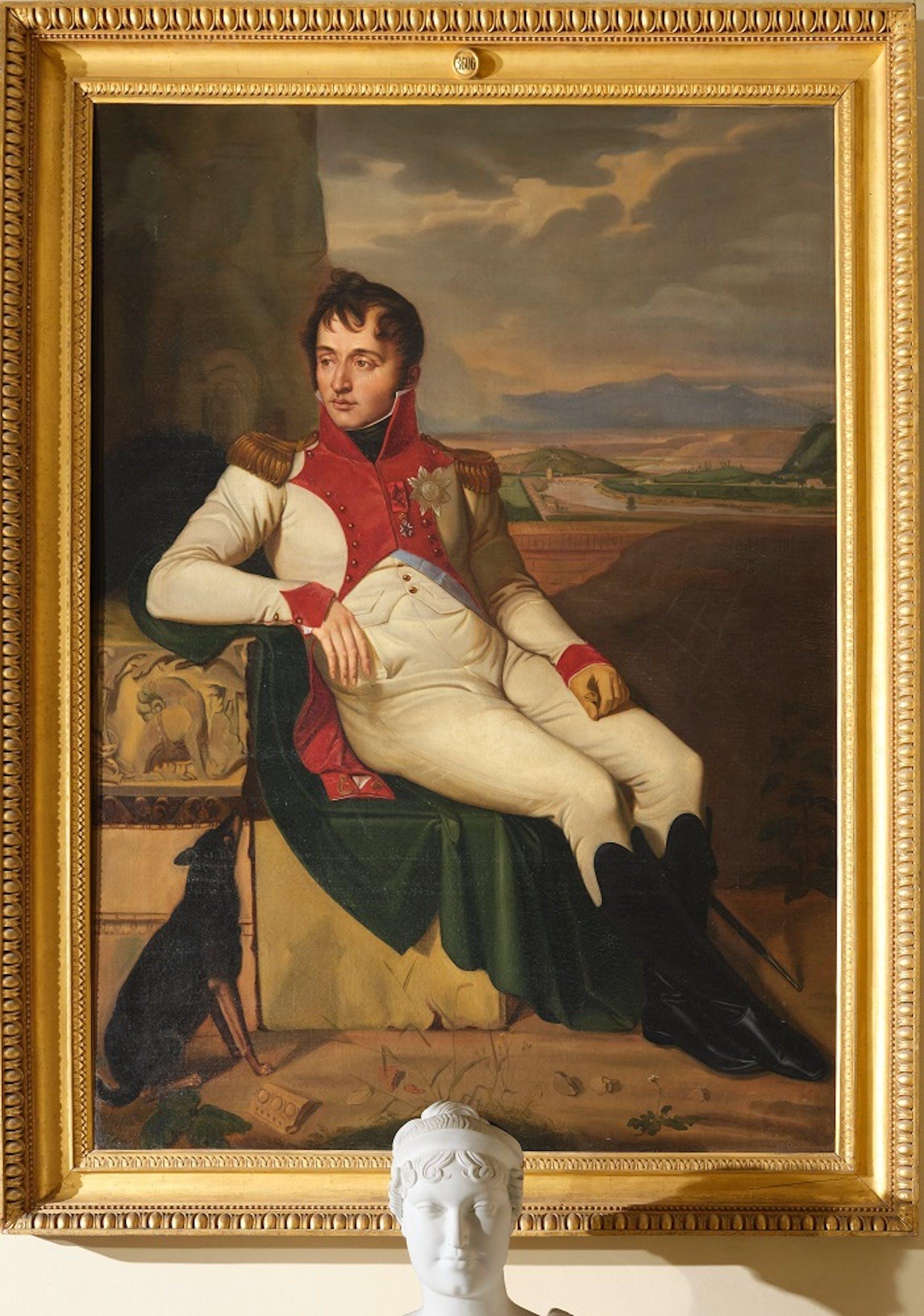 Jean Baptiste Wicar, Ritratto di Luigi Bonaparte