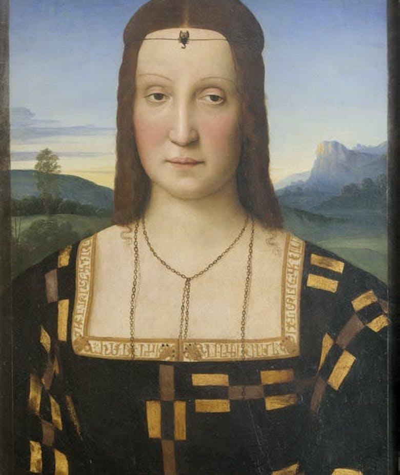 Raffaello e i gioielli alle Gallerie degli Uffizi: Elisabetta Gonzaga, Maddalena Doni e la Velata